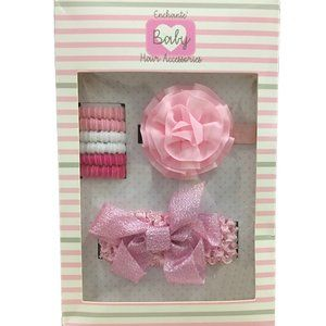 NEW Enchante' Baby Hair Accessories Gift Box